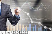 Купить «Analyzing sales data», фото № 23012262, снято 18 октября 2018 г. (c) Sergey Nivens / Фотобанк Лори
