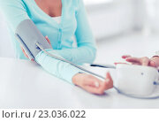 doctor and patient in hospital. Стоковое фото, фотограф Syda Productions / Фотобанк Лори