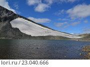 Ледник Пальгова. Стоковое фото, фотограф Евгений Тищук / Фотобанк Лори