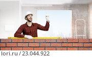 Купить «Young engineer man», фото № 23044922, снято 19 июня 2019 г. (c) Sergey Nivens / Фотобанк Лори