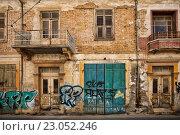 Купить «Старое здание в Ларнаке», фото № 23052246, снято 17 мая 2016 г. (c) Морозова Татьяна / Фотобанк Лори