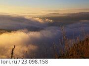 Купить «Misty dawn», фото № 23098158, снято 18 октября 2018 г. (c) Яков Филимонов / Фотобанк Лори
