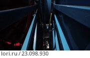 Купить «Укладка подводного оптического кабеля на дне моря», видеоролик № 23098930, снято 27 ноября 2015 г. (c) Александр Багно / Фотобанк Лори