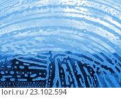Купить «Пузырьки пены на стекле», фото № 23102594, снято 22 августа 2010 г. (c) Dina / Фотобанк Лори