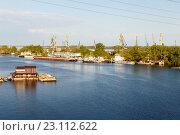 Купить «Устье реки Самарка», фото № 23112622, снято 11 мая 2016 г. (c) Акиньшин Владимир / Фотобанк Лори