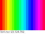 Купить «Цветовой спектр: в полоску», иллюстрация № 23124702 (c) Юрий Кобзев / Фотобанк Лори
