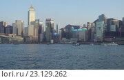 Гавань Виктория в Гонконге (2016 год). Редакционное видео, видеограф Михаил Коханчиков / Фотобанк Лори