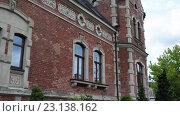Купить «Lloyd Palace in Grodzka Street, Bydgoszcz, Poland», видеоролик № 23138162, снято 5 ноября 2015 г. (c) BestPhotoStudio / Фотобанк Лори