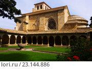 Church of San Pedro de la Rua at Estella. Стоковое фото, фотограф Яков Филимонов / Фотобанк Лори