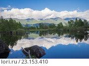 Купить «Телецкое озеро. Алтай», фото № 23153410, снято 2 июня 2016 г. (c) Алексей Ширманов / Фотобанк Лори