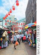 Купить «Chinatown in Kuala Lumpur, Malaysia», фото № 23159830, снято 15 июня 2016 г. (c) Александр Подшивалов / Фотобанк Лори