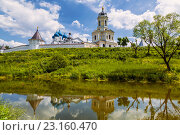 Купить «Высоцкий мужской монастырь, Серпухов», фото № 23160470, снято 20 июня 2016 г. (c) Наталья Волкова / Фотобанк Лори