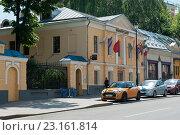 Улица Покровка, 29. Москва. Россия (2016 год). Редакционное фото, фотограф E. O. / Фотобанк Лори