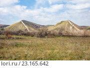 Купить «Гребенные горы или Две Сестры», фото № 23165642, снято 5 апреля 2016 г. (c) Борис Панасюк / Фотобанк Лори