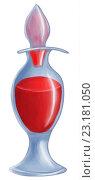 Купить «Флакон с красным веществом», иллюстрация № 23181050 (c) David Murk / Фотобанк Лори