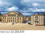 Купить «Coburg State Theatre, Coburg, Upper Franconia, Franconia, Bavaria, Germany, Europe.», фото № 23200870, снято 8 июня 2011 г. (c) age Fotostock / Фотобанк Лори