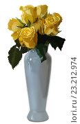 Купить «Букет цветов в вазе», иллюстрация № 23212974 (c) М Б / Фотобанк Лори