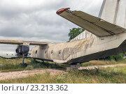 Старый самолет. Стоковое фото, фотограф Станислав Илюк / Фотобанк Лори