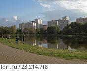Купить «Современная городская среда. Москва», фото № 23214718, снято 23 мая 2016 г. (c) Самойлова Екатерина / Фотобанк Лори