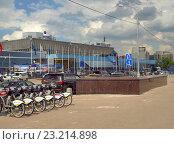 Купить «Современная городская среда. Москва», фото № 23214898, снято 25 мая 2016 г. (c) Самойлова Екатерина / Фотобанк Лори