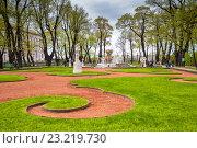 Купить «Летний сад в Санкт-Петербурге», фото № 23219730, снято 16 мая 2015 г. (c) Anna P. / Фотобанк Лори