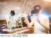 Купить «Composite image of various graphs and connectivity points», фото № 23225854, снято 19 апреля 2019 г. (c) Wavebreak Media / Фотобанк Лори