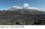 Купить «Камчатский вулканический пейзаж (time lapse)», видеоролик № 23232574, снято 4 июля 2016 г. (c) А. А. Пирагис / Фотобанк Лори