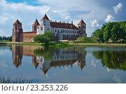 Европа, Беларусь: Мирский замок (2014 год). Стоковое фото, фотограф Писаревский Владислав / Фотобанк Лори