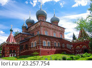 Купить «Церковь Воскресения на Дебре в Костроме», фото № 23257754, снято 6 июля 2016 г. (c) Natalya Sidorova / Фотобанк Лори