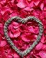 Лепестки роз с сердцем, фото № 23262414, снято 27 июля 2016 г. (c) Sergejs Rahunoks / Фотобанк Лори