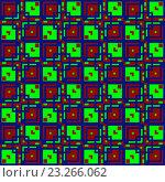 Купить «Геометрический бесшовный фон», иллюстрация № 23266062 (c) Елена Арсентьева / Фотобанк Лори