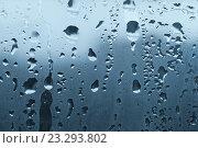 Купить «Капли воды на стекле», фото № 23293802, снято 7 ноября 2007 г. (c) Dina / Фотобанк Лори