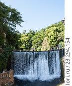 Купить «Новоафонский водопад», фото № 23294154, снято 7 июля 2016 г. (c) Светлана Овчинникова / Фотобанк Лори