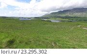 Купить «view to lake or river at connemara in ireland 32», видеоролик № 23295302, снято 23 июня 2016 г. (c) Syda Productions / Фотобанк Лори
