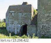 Купить «Форт №9, форт князя Рюрика на острове Русском», фото № 23298422, снято 3 июля 2016 г. (c) Корнилова Светлана / Фотобанк Лори