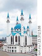 Мечеть Кул-Шариф в Казанском Кремле (2016 год). Стоковое фото, фотограф Владимир Одегов / Фотобанк Лори