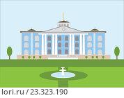 Купить «Дворец с колоннами», иллюстрация № 23323190 (c) Tati@art / Фотобанк Лори