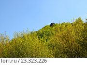 Жигулевские горы. Лысая гора. Петров камень. Редакционное фото, фотограф Staryh Luiba / Фотобанк Лори