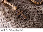 Купить «Bible and cross in religious concept», фото № 23337854, снято 24 мая 2016 г. (c) Elnur / Фотобанк Лори