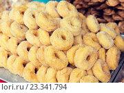 Купить «sugared donuts at asian street market», фото № 23341794, снято 7 февраля 2015 г. (c) Syda Productions / Фотобанк Лори