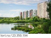 9-й микрорайон района Северный в Москве (2016 год). Стоковое фото, фотограф Алёшина Оксана / Фотобанк Лори
