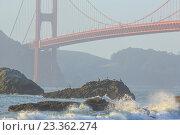 Мост Золотые Ворота, Сан Франциско, США (2012 год). Стоковое фото, фотограф Станислав Мороз / Фотобанк Лори