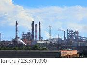 Металлургический завод (2016 год). Стоковое фото, фотограф Дмитрий Воробьев / Фотобанк Лори
