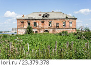 Руины исторических зданий в Усолье (2016 год). Стоковое фото, фотограф Андрей Казаков / Фотобанк Лори