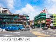 Купить «Kuala Lumpur city center», фото № 23407870, снято 15 июня 2016 г. (c) Александр Подшивалов / Фотобанк Лори