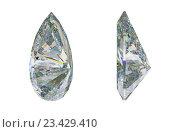 Купить «Драгоценный камень или алмаз грушевидной формы», иллюстрация № 23429410 (c) Арсений Герасименко / Фотобанк Лори
