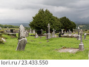 Купить «old celtic cemetery graveyard in ireland», фото № 23433550, снято 24 июня 2016 г. (c) Syda Productions / Фотобанк Лори