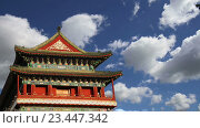 Ворота Цяньмэнь на юге площади Тяньаньмэнь в Пекине, Китай (2016 год). Стоковое видео, видеограф Владимир Журавлев / Фотобанк Лори