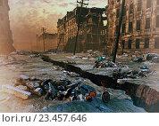 Купить «Руины города», иллюстрация № 23457646 (c) Виктор Застольский / Фотобанк Лори