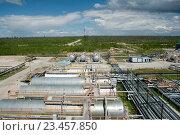Нефтеперерабатывающий завод. Стоковое фото, фотограф Георгий Shpade / Фотобанк Лори